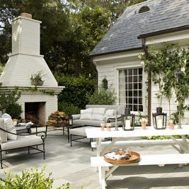 Traditional Patio by Tim Barber Ltd Architecture