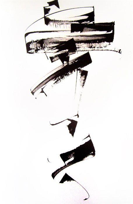 i l l i s t r a t i o n s : via Kitty Sabatier #abstract #design #inspiration