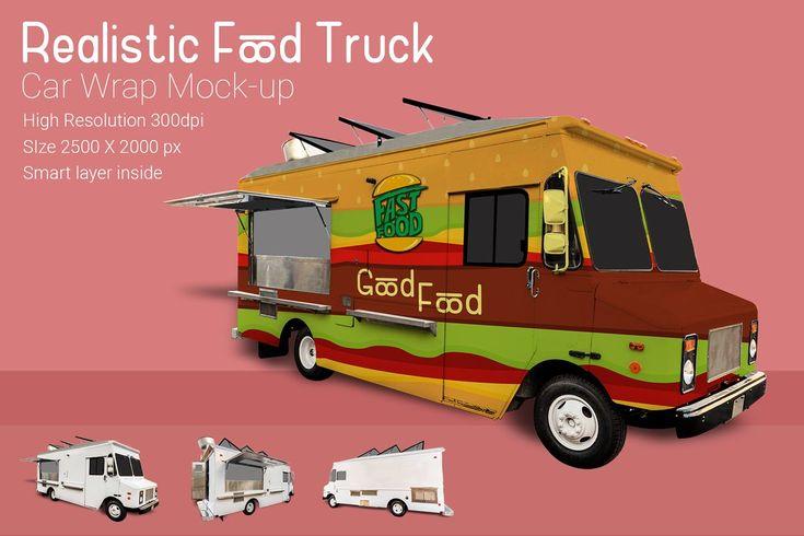 Food Truck Mock Up Vr2 Food Truck Mocking Used Food Trucks