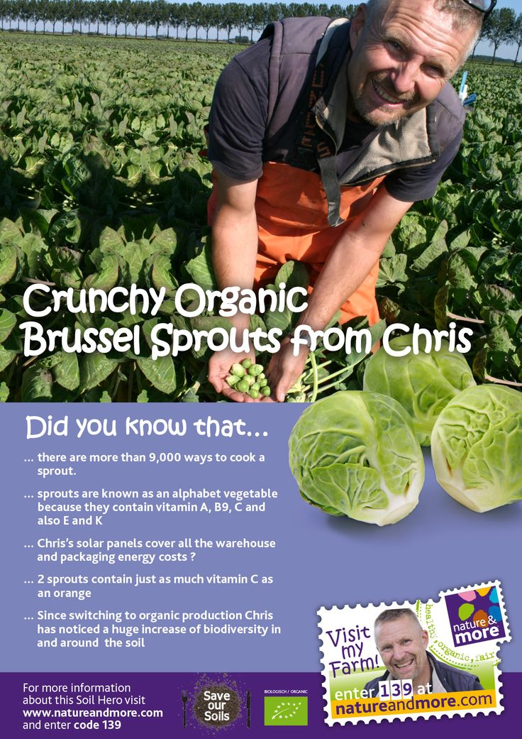 #organic #sprouts #delicious #natureandmore #chris #didyouknow