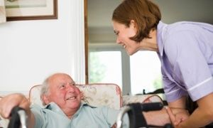 'If you're progressing somebody through the ranks then they remain familiar to the resident.' Janet Gilder, care home manager.