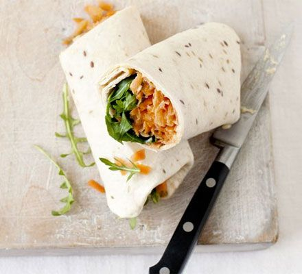 At the minute houmous wraps are a hit at home. So simple to make and healthy too. Plenty of fiber.. Good fats... protein... Plenty of vitamins & minerals...   Whats not to like. So get wrapping!
