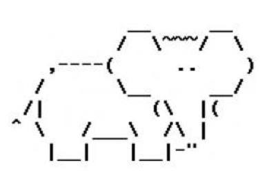 simple ascii art - Google Search