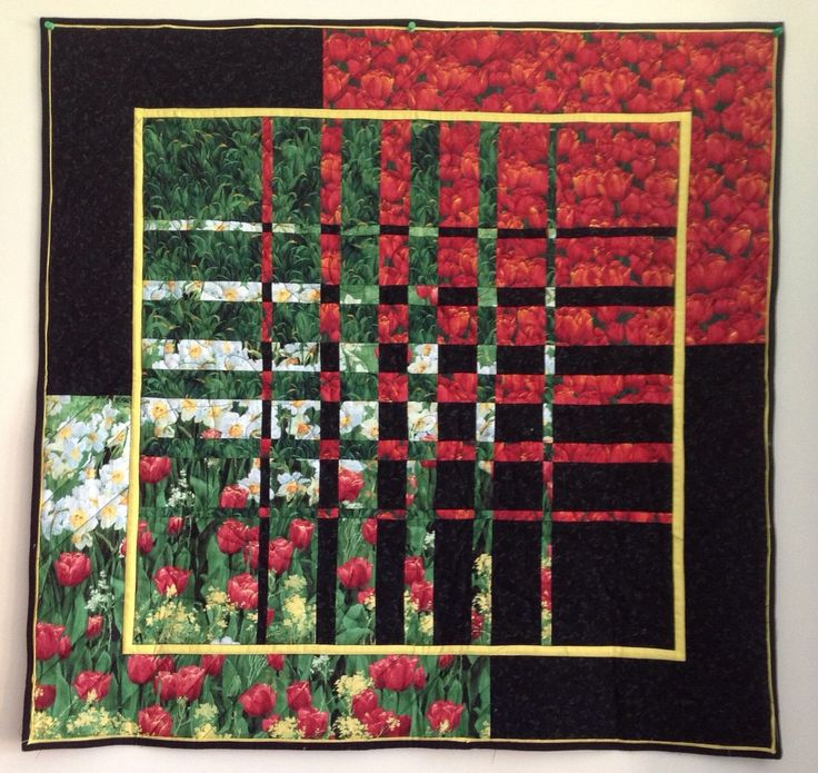 Convergence Quilt - Poppies
