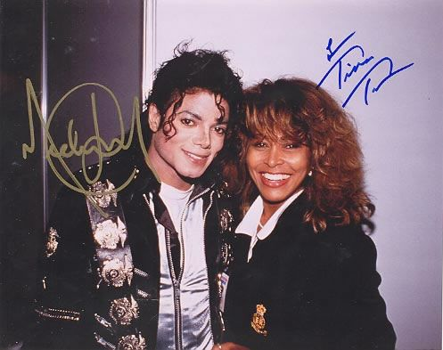 Not a fan of Tina but I love this picture of Michael, looks so relaxed and happy here.