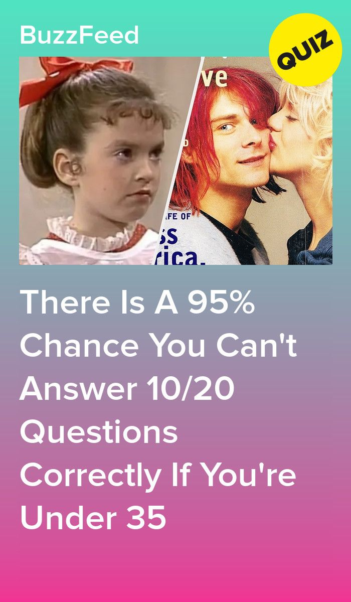 Again If You Re Younger Than 35 You Re Going To Fail This Quiz