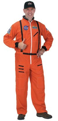 Astronaut Costumes for Adults: Astronaut Launch/Entry Spacesuit