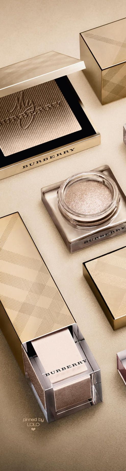 Burberry Makeup Gold   LOLO❤︎