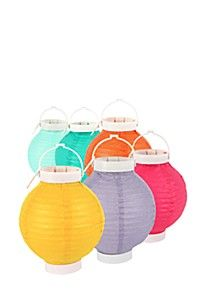PACK OF 6 PAPER LANTERNS