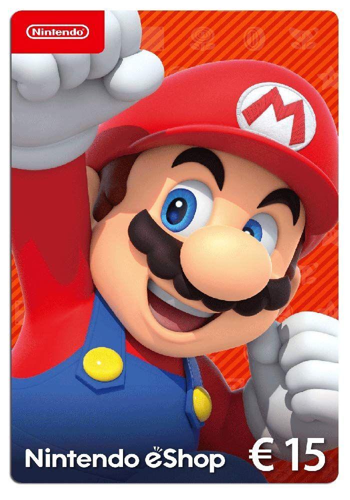 Nintendo Eshop Card 15 Eur Guthaben Download Code Coupon