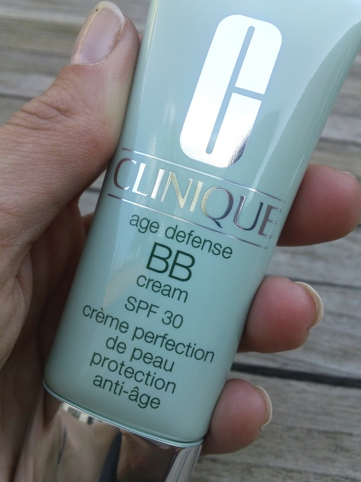 Clinique Age Defense BB Cream SPF 30,  I really like this bb cream but I have now done research and I am excited to try Skin 79 which is much cheaper and from Asia where these bb creams came from in the first place.  It gets amazing reviews, one of the top one out there.  You can order through amazon or eBay.