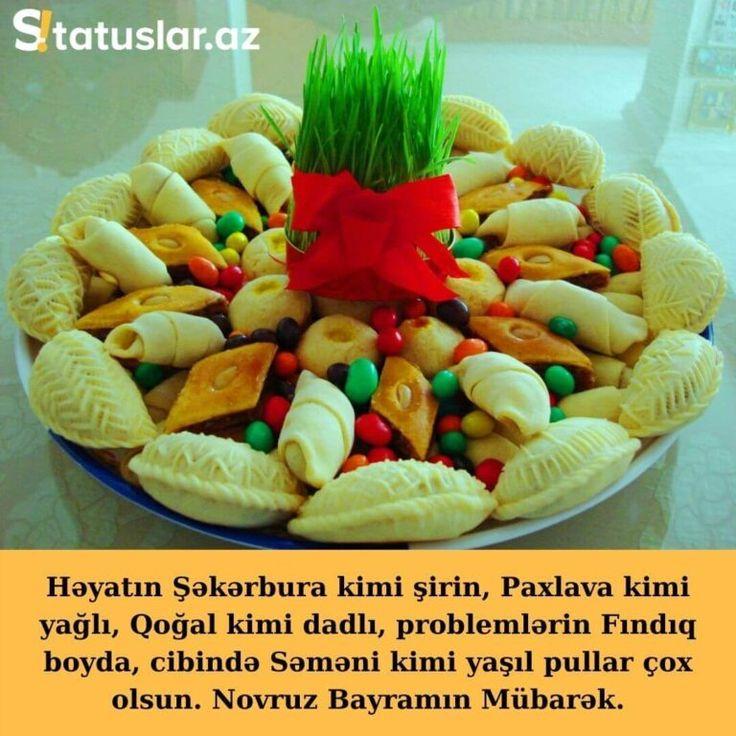 Novruz Bayrami Tebrikleri Mesajlari Sekilleri 2021 In 2021 Food Breakfast