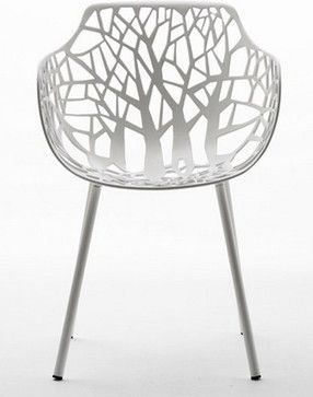 Forest Garden Chair With Armrests - contemporary - Outdoor Chairs - ARCHIPRODUCTS no pricelisted