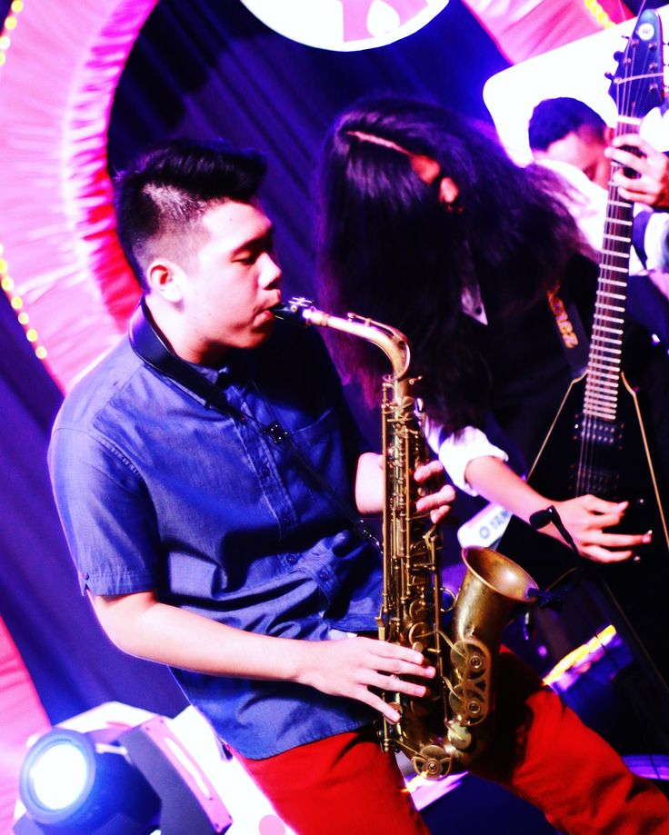 Achord7 performance at Stella Duce SHS' prom party, captured by Canon EOS 70D