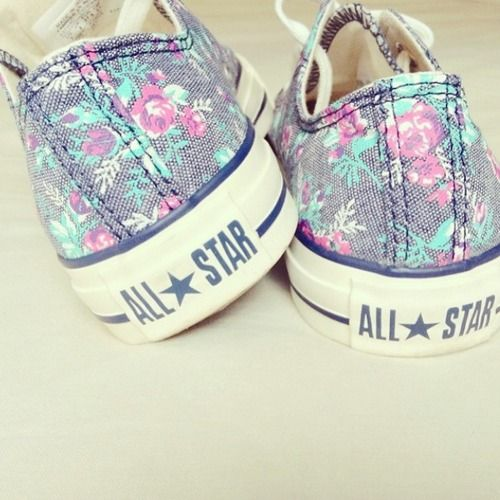 Floral All Star Converse