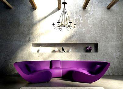 55 best Purple Living Room images on Pinterest