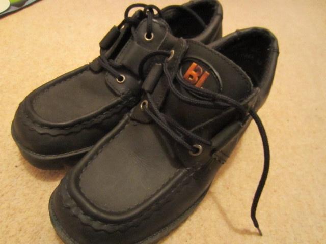 Bootleg School Shoes, £3.99