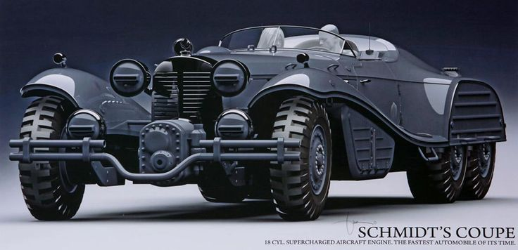 Hydra Schmidt Coupe...It's almost cool enough to make me ...