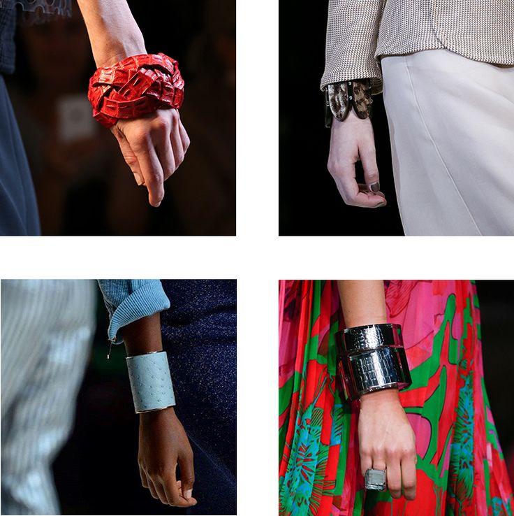 in detail catwalk trends ss15 the bracelet 03 THE REIGN OF THE BRACELET