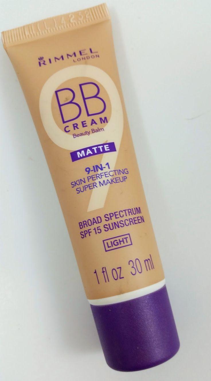 The Budget Beauty Blog: Rimmel BB Cream Matte Review