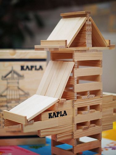 KAPLA model #1 by Laurentiu Cristofor, via Flickr