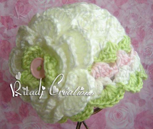 New Baby Crochet Hat Beanie cap Newborn by ritadjcreations on Etsy, 13.00