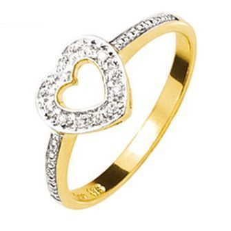 Buy our Australian made Gold Diamond set Sweetheart Ring - BEE-25016 online. Explore our range of custom made chain jewellery, rings, pendants, earrings and charms.