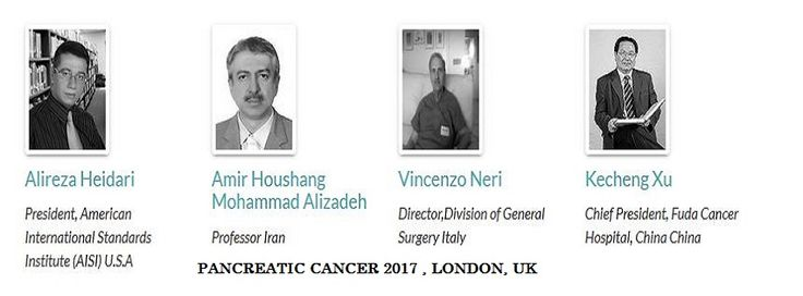 We've invited the most influential Speakers from around the world to give inspirational talks and lead practical workshops. Get register for the conference 2nd International Conference on Pancreatic Cancer & Liver Diseases going to be held in London, UK on August 10-11, 2017 and be a member of this wonderful session.