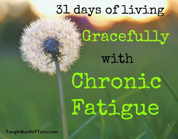 Living Gracefully with Chronic Fatigue - a #31Days series by Kateri