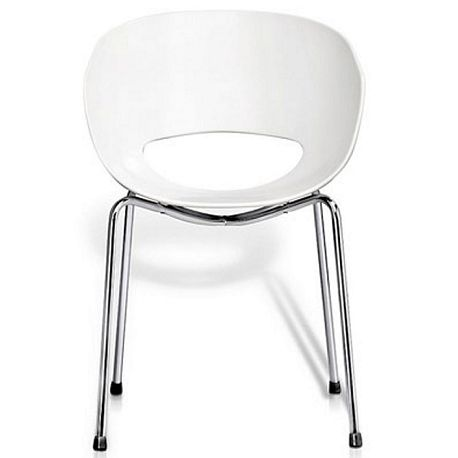 Orb Breakout Chair.  The Orb office meeting room, break-out, reception chair or visitor chair is constructed out of 18mm steel tube. The shell is made from technopolymer high tech poly compound. The Orb carries a full one year warranty.