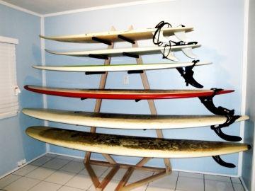 Epic Surf Racks tower surf rack w boards