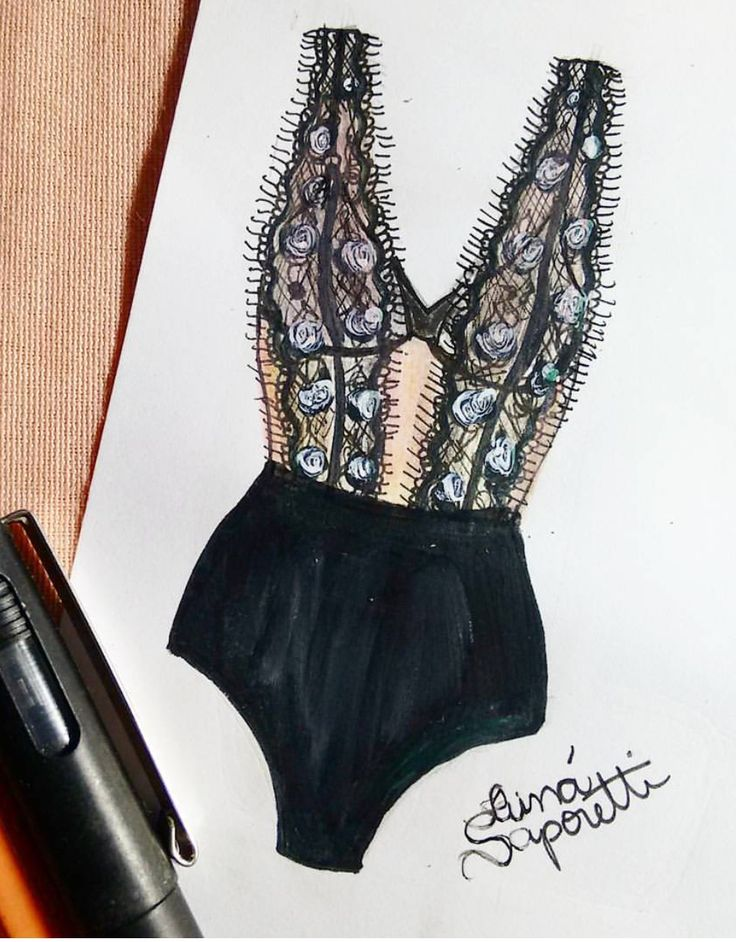 ❥|Pretty Little Lingerie... @tainasaporetti #FashionIllustrations| Be Inspirational ❥|Mz. Manerz: Being well dressed is a beautiful form of confidence, happiness & politeness