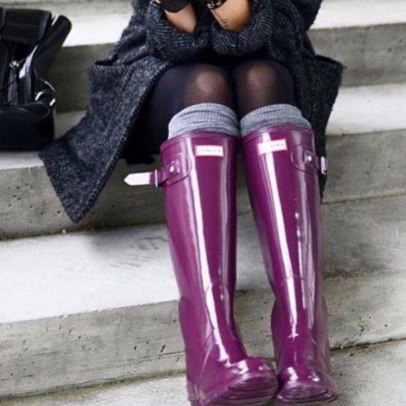 E hoje eu vou de galocha para passar com estilo por essa chuva com friozinho que…
