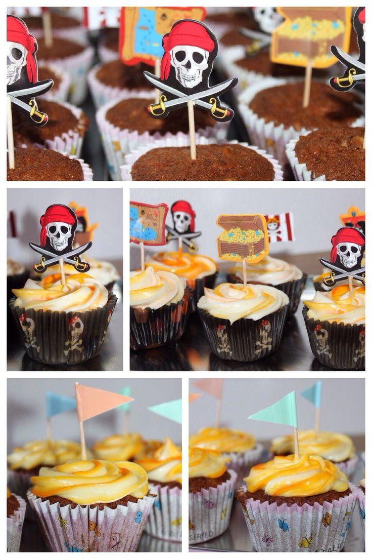Cupcakes // Hjemme-bage-kage-dag :)