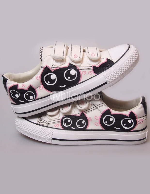 Cute Cat anime/chibi Shoes~