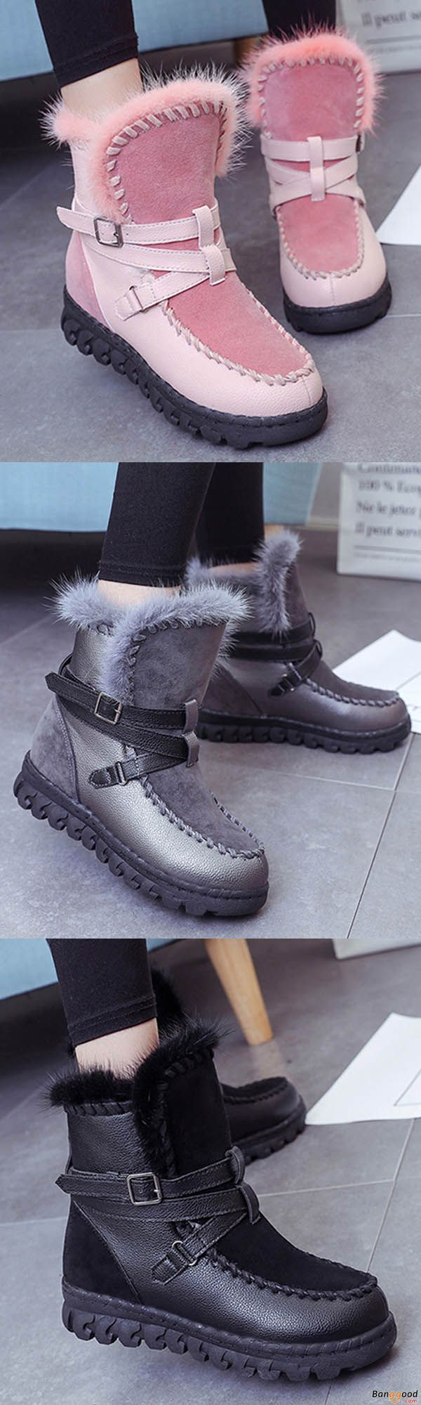 US$36.69+ Free shipping. Winter Round Toe Lace Up Keep Warm Flats Snow Boots. shoes boots, boots outfit, womens boots, winter boots, ankle boots, slip on shoes, snow boots. Buy now! #shops #style #ideas #womens #shoes #boots #snow #diy #plussize #outfit #ankle #short #guide #winter #cheap #hunter #2017 #fashion #howtowear