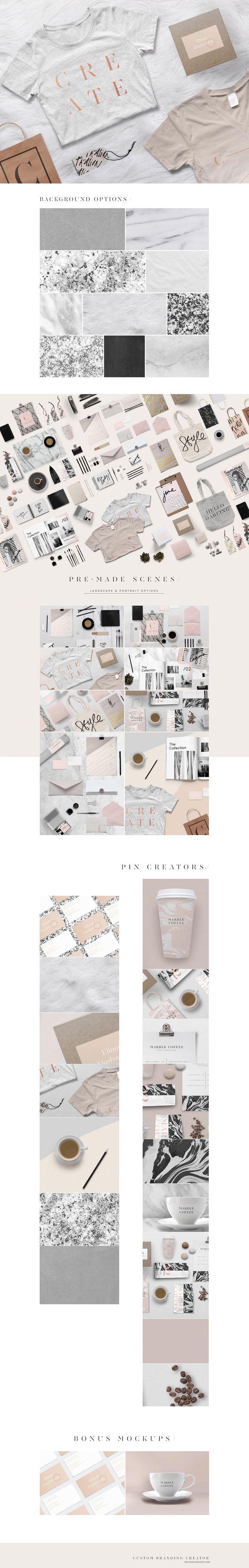Custom Branding Creator 100+ Items By Designloveshop On @creativemarket