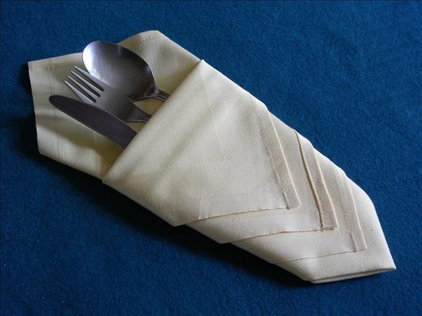 Serviette Napkin Folding Diamond Pouch Make In Advance