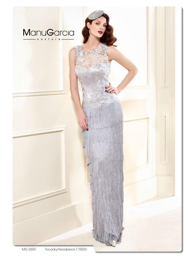Tu vestido de fiesta en color plata by Manu García costura | Blog HigarNovias