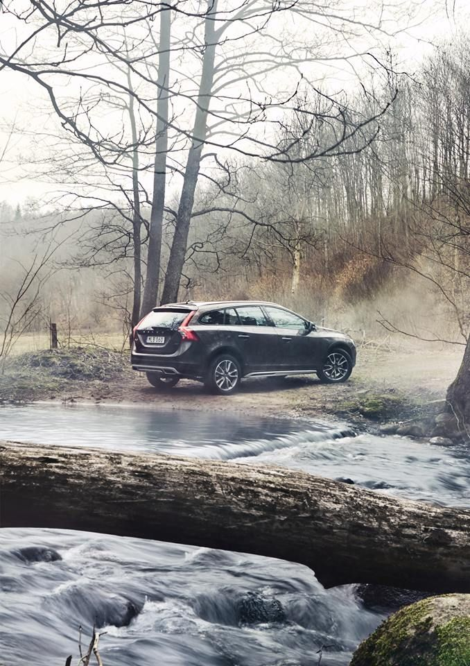 Crave The Wild With The New V60 Cross Country Volvo