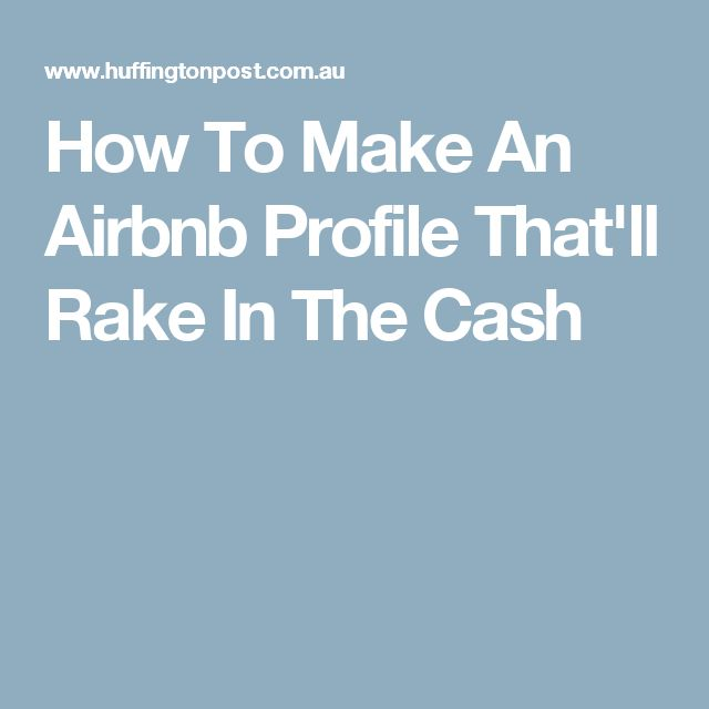 how to make a good airbnb profile