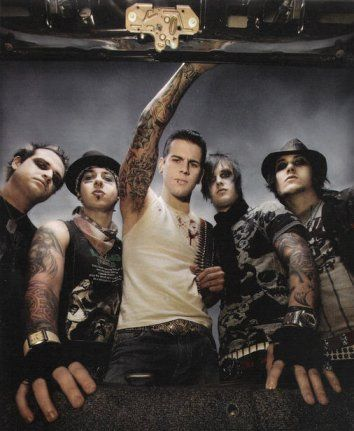 Avenged Sevenfold is an American heavy metal band from Huntington Beach, California. Formed in 1999, the group consists of M. Shadows, Synyster Gates, Zacky Vengeance, and Johnny Christ.