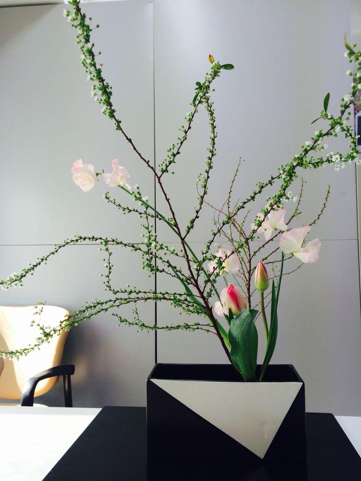 Free Arrangement with Tulips