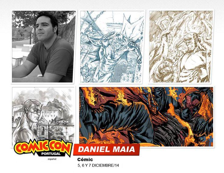 Daniel Maia estará en la #comicconportugal :D  #comic #ilustracion