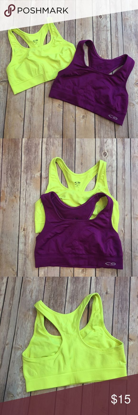 ❗3 for $20❗2 C9 By Champion Sports Bras In excellent condition Champion Intimates & Sleepwear Bras