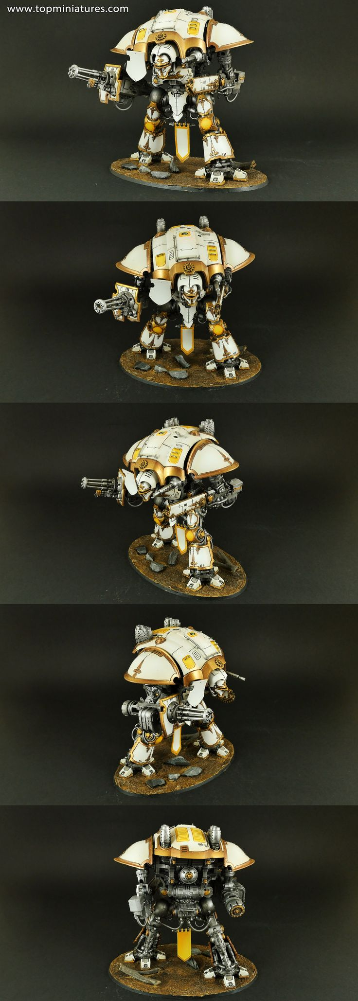 Warhammer 40k white imperial knight