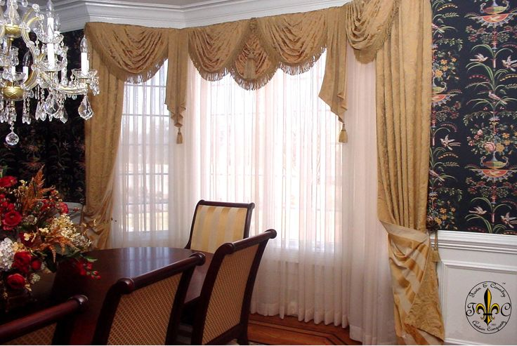 formal kitchen window treatments | Your Window Treatments will be . . .
