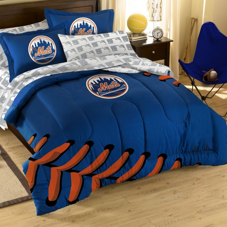 Captivating MLB New York Mets Full Bed In A Bag   1MLB881000019RET