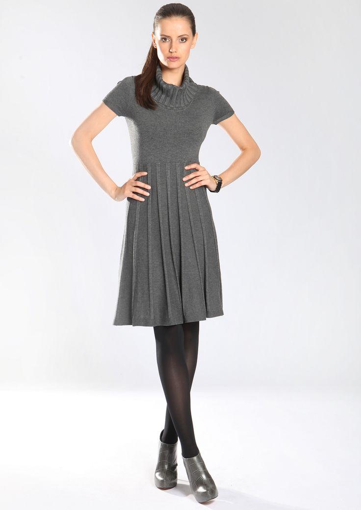 Strickkleid, leicht ausgestellt Jetzt bestellen unter: https://mode.ladendirekt.de/damen/bekleidung/kleider/strickkleider/?uid=85d648b1-44b2-5942-b825-1304f8f18828&utm_source=pinterest&utm_medium=pin&utm_campaign=boards #strickkleider #casual #kleider #bekleidung