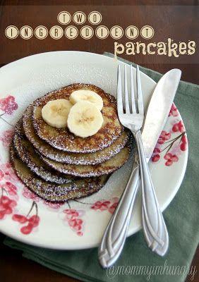 2 ingredient pancakes (bananas and eggs)